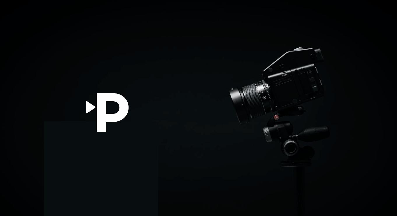 paul films logo with camera