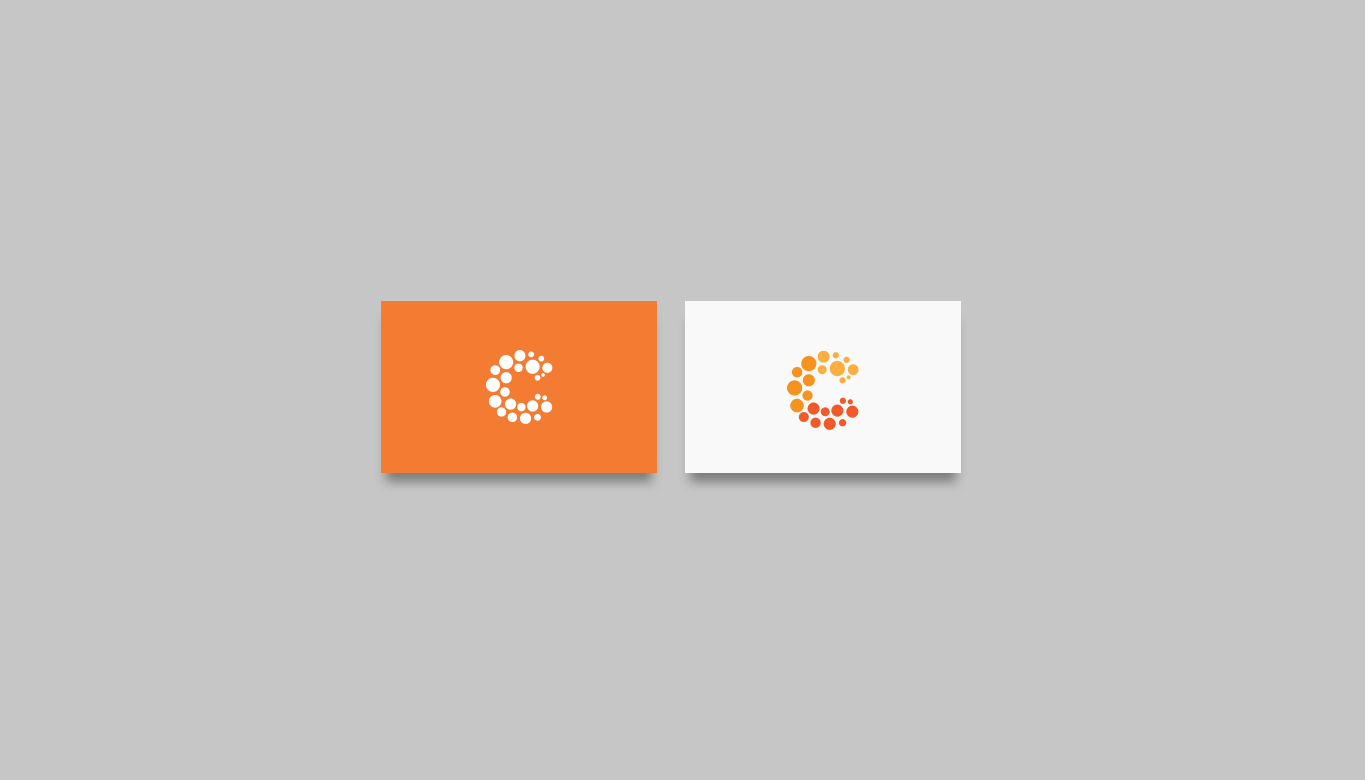 combustible marketing agency stationery design
