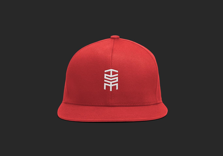 tribe sports marketing logo on cap