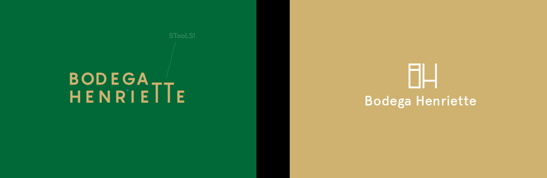 bodega henriette toronto visual identity logo description